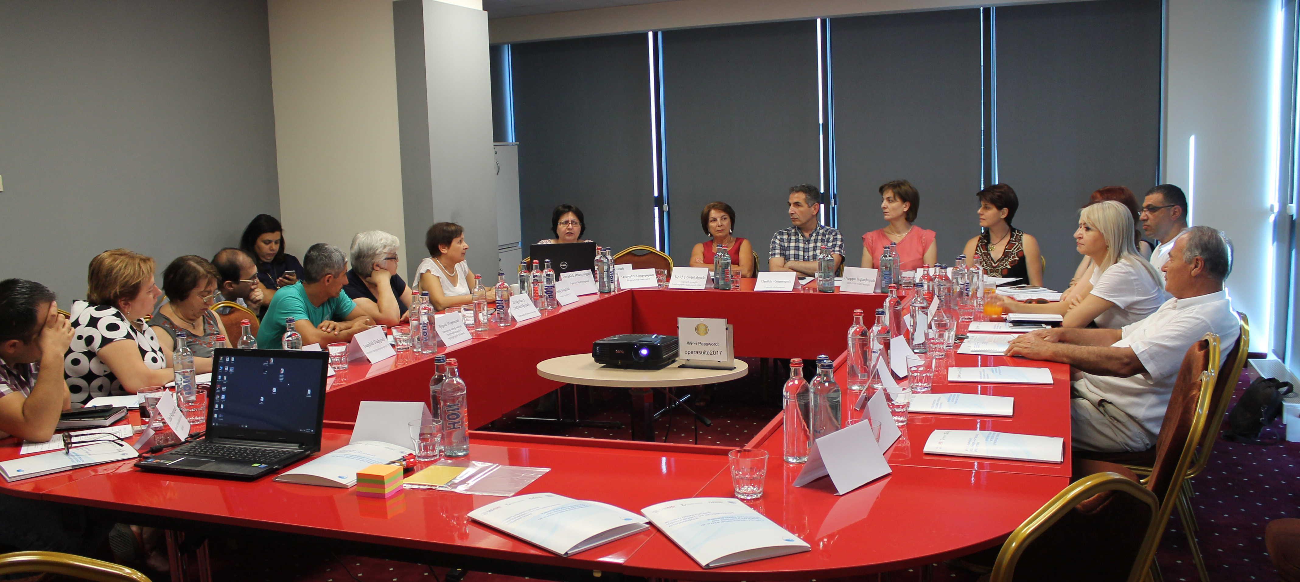 Brainstorming meeting on Water Sector Public Advocacy